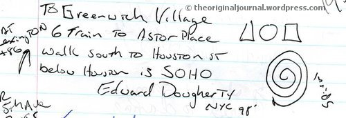 Directions to Greenwich Village