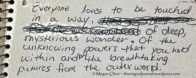 From 1997 Biggie Blue Book Sketch Journal