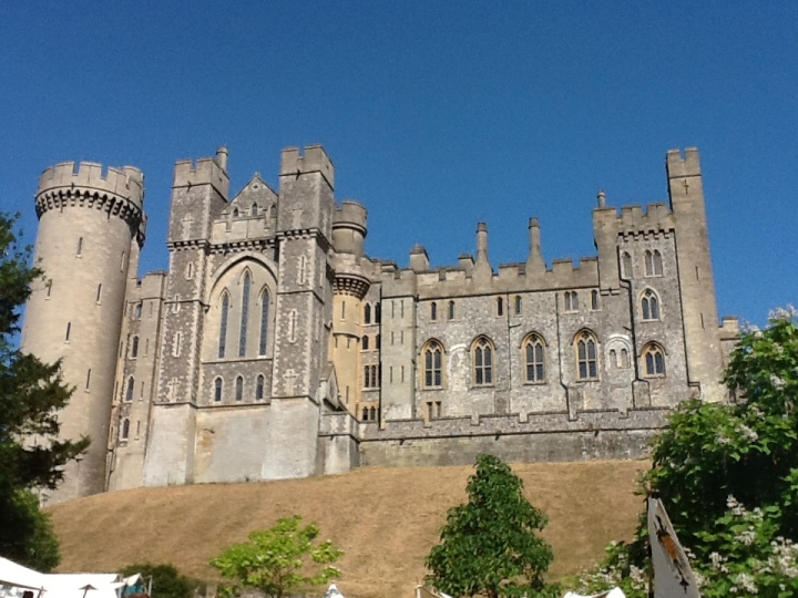 Arundel Castle, home of the Duke and Duchess of Suffolk
